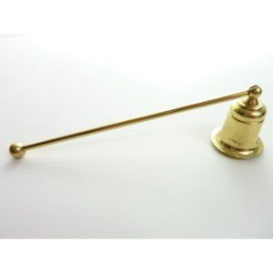 Vintage Candle Snuffer Brass Simple